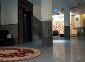لابی هتل آپارتمان مهرگان مشهد