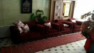 لابی هتل آپارتمان اخوان مشهد