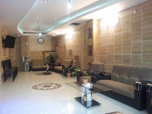 لابی هتل آپارتمان صوفیان مشهد