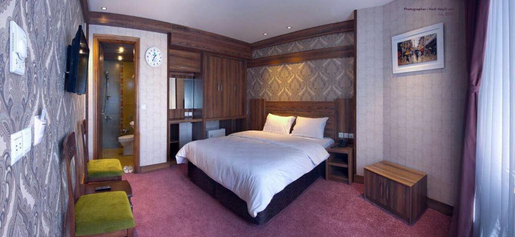 عکس اتاق هتل کارن مشهد