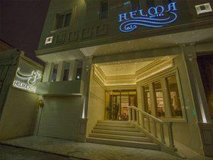 نمای هتل حلما مشهد