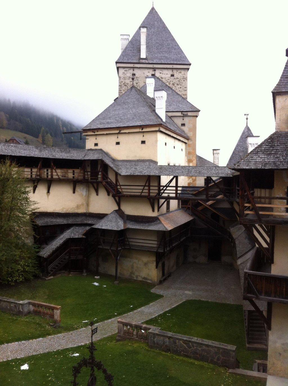 وحشت در قلعه موشم اتریش