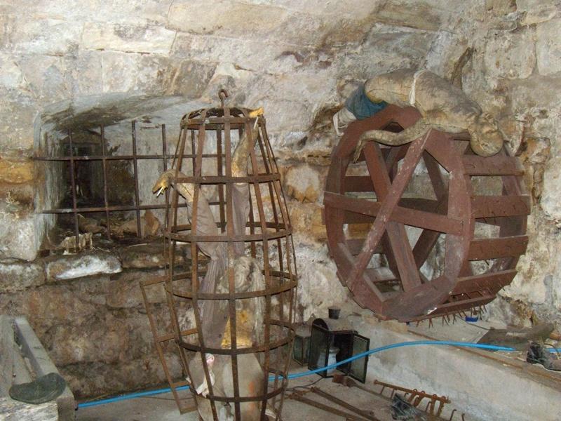 شکنجه در قلعه موشم اتریش