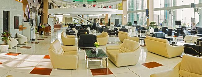 سالن استراحت فرودگاه