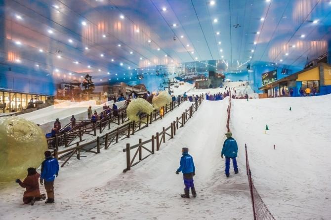 پیست اسکی مصنوعی در دبی