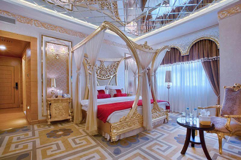 اتاق 2 تخته هانی مون هتل الماس 2 مشهد