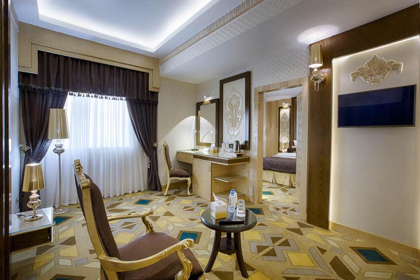 سوئیت سبک معماری تمدن ها هتل الماس 2 مشهد