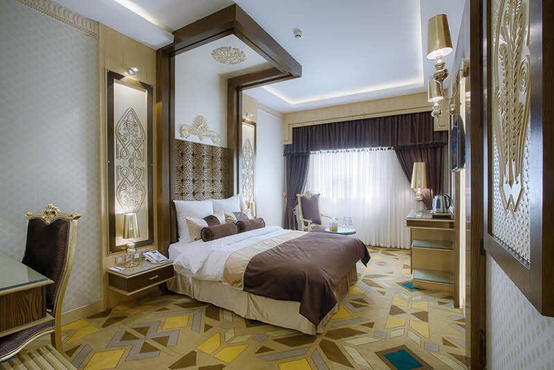 اتاق 2 تخته معماری تمدن ها هتل الماس 2 مشهد