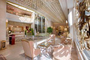 نمای لابی هتل الماس 2 مشهد