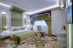 نمای اتاق 2 تخته هتل الماس 2 مشهد