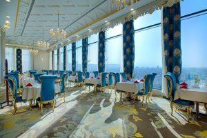 رستوران فیروزه هتل الماس 2 مشهد