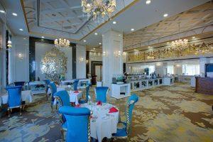 نمای رستوران فیروزه هتل الماس 2 مشهد