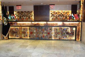 لابی هتل ارگ مشهد