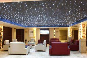نمای لابی هتل ارگ مشهد