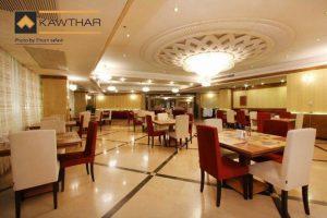 رستوران هتل کوثر ناب مشهد