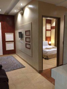 تصویر اتاق هتل سقا مشهد