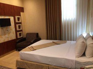 اتاق هتل سقا مشهد