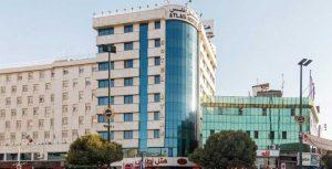 نمای هتل اطلس مشهد