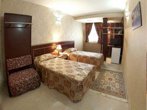نمای اتاق هتل صابر مشهد