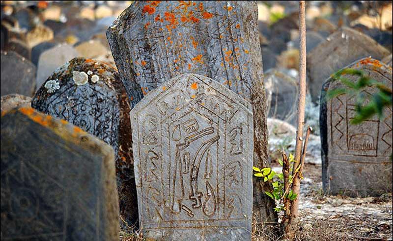 قبرستان سفیدچاه مازندران