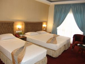 اتاق هتل صادقیه مشهد