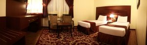 اتاق توئین هتل مشهد