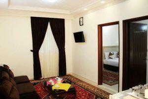 نمای اتاق هتل محلات مشهد