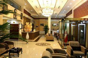 لابی هتل محلات مشهد