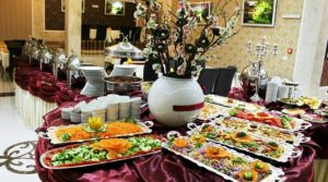 سالاد بار رستوران هتل محلات مشهد