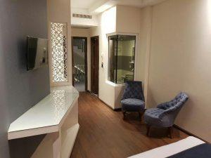 نمای اتاق هتل نسیم مشهد