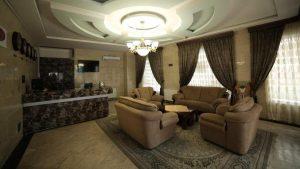 لابی هتل آپارتمان نور مشهد