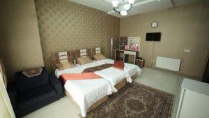 اتاق هتل آپارتمان نور مشهد