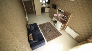 نمای اتاق هتل آپارتمان نور مشهد