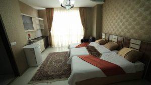 تصویر اتاق هتل آپارتمان نور مشهد