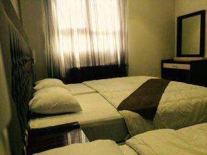 اتاق هتل آپارتمان پارادایس مشهد