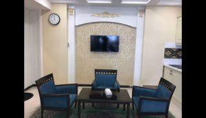 عکس اتاق هتل آپارتمان سلمان مشهد