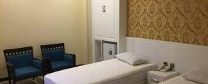 نمای اتاق هتل آپارتمان سلمان مشهد