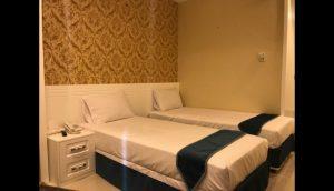 اتاق هتل آپارتمان سلمان مشهد