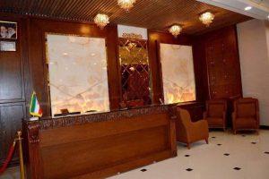 لابی هتل سی و سه پل مشهد