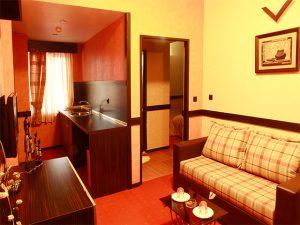 نمای اتاق هتل آپادانا مشهد