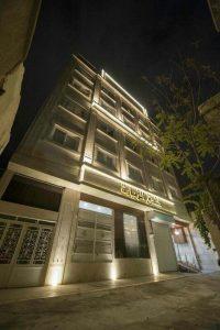 نمای هتل زیارت مشهد