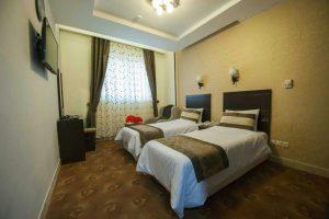 عکس اتاق هتل زیارت مشهد