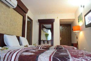 اتاق هتل هفت آسمان مشهد