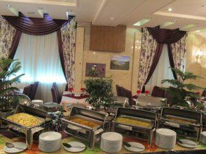 رستوران هتل هفت آسمان مشهد
