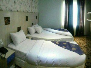 اتاق هتل تاج مشهد