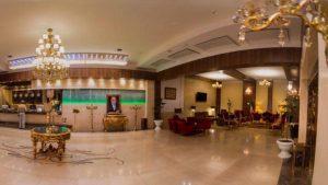 لابی هتل آفتاب شرق مشهد