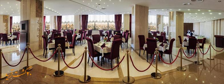 رستوران در تور مشهد هتل سی نور