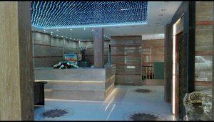لابی هتل آپارتمان سبز طلایی مشهد