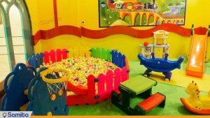 اتاق بازی کودکان هتل مدینه الرضا مشهد