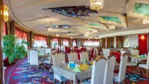 رستوران گردان هتل مدینه الرضا مشهد